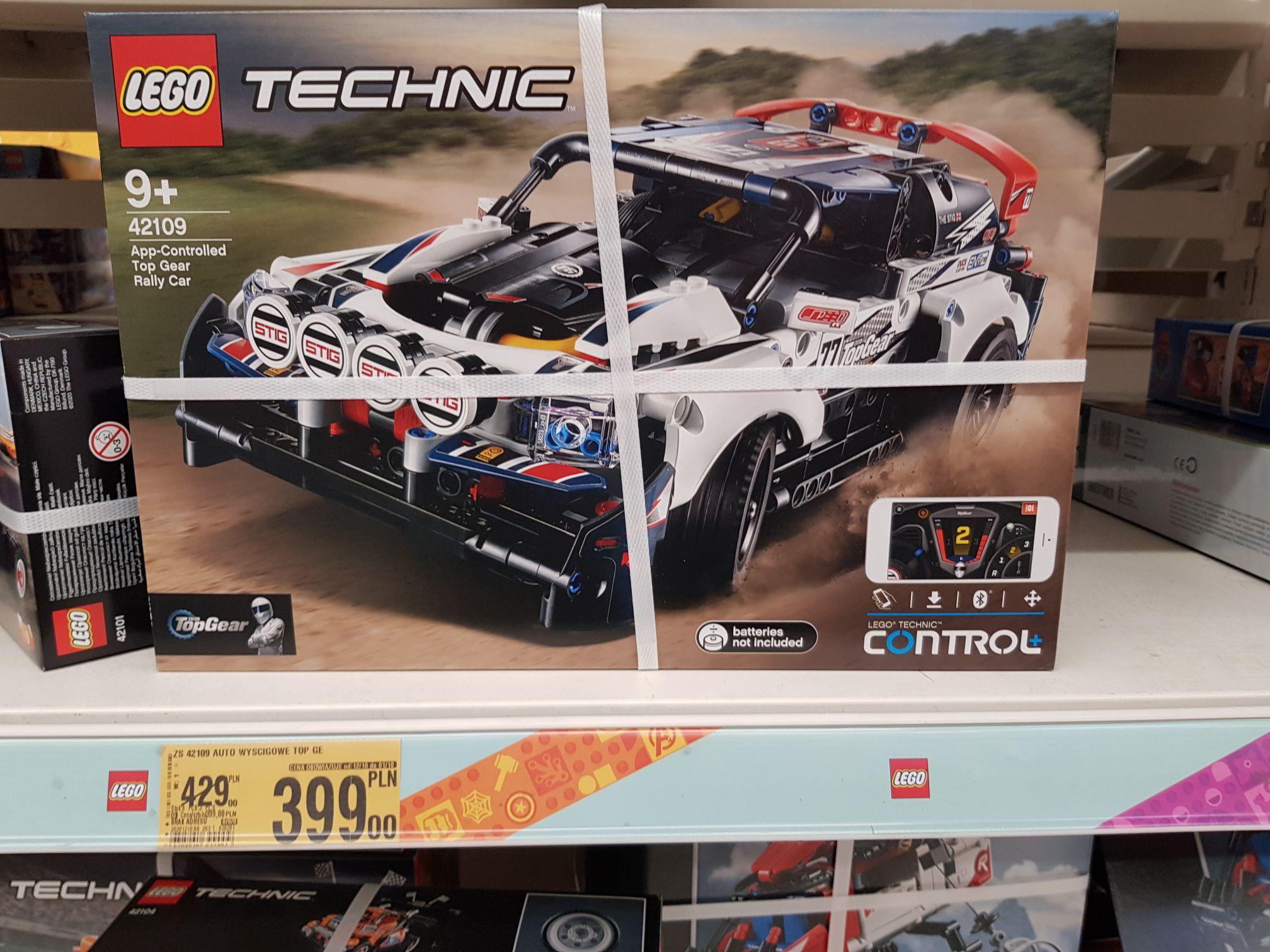Lego Technic 42109 Wrocław Auchan CH Korona