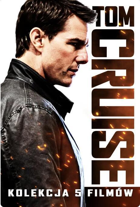 Tom Cruise 5 Film Collection - inne też w promo - 4K, iTunes, Apple TV