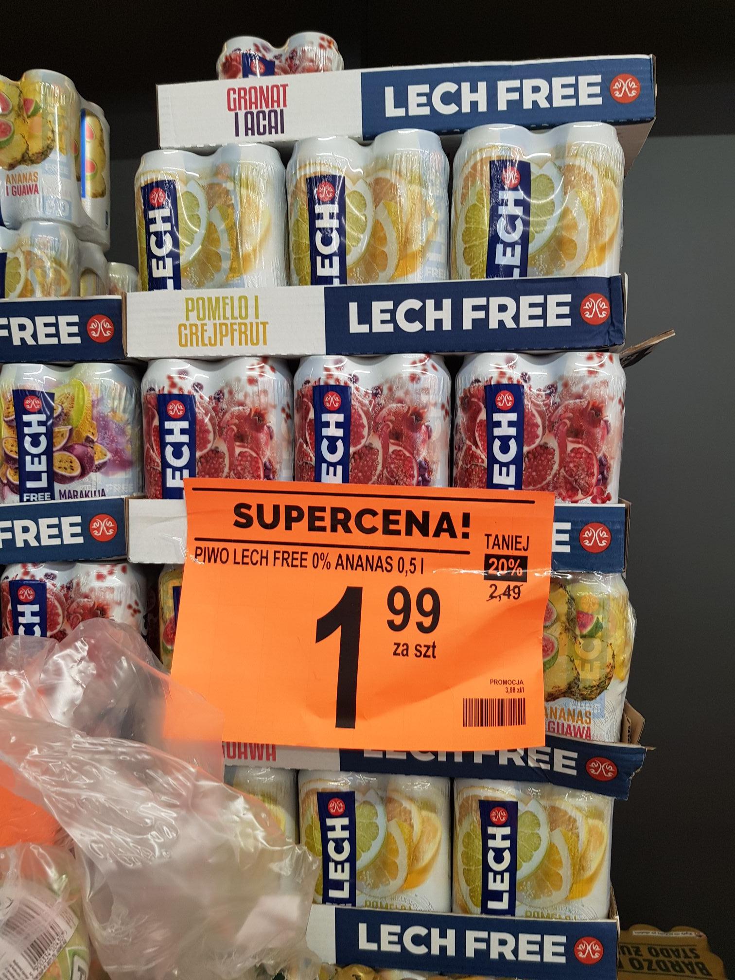 Lech free 0% Biedronka