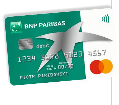 350 zł w gotówce w promocji konta BNP Paribas