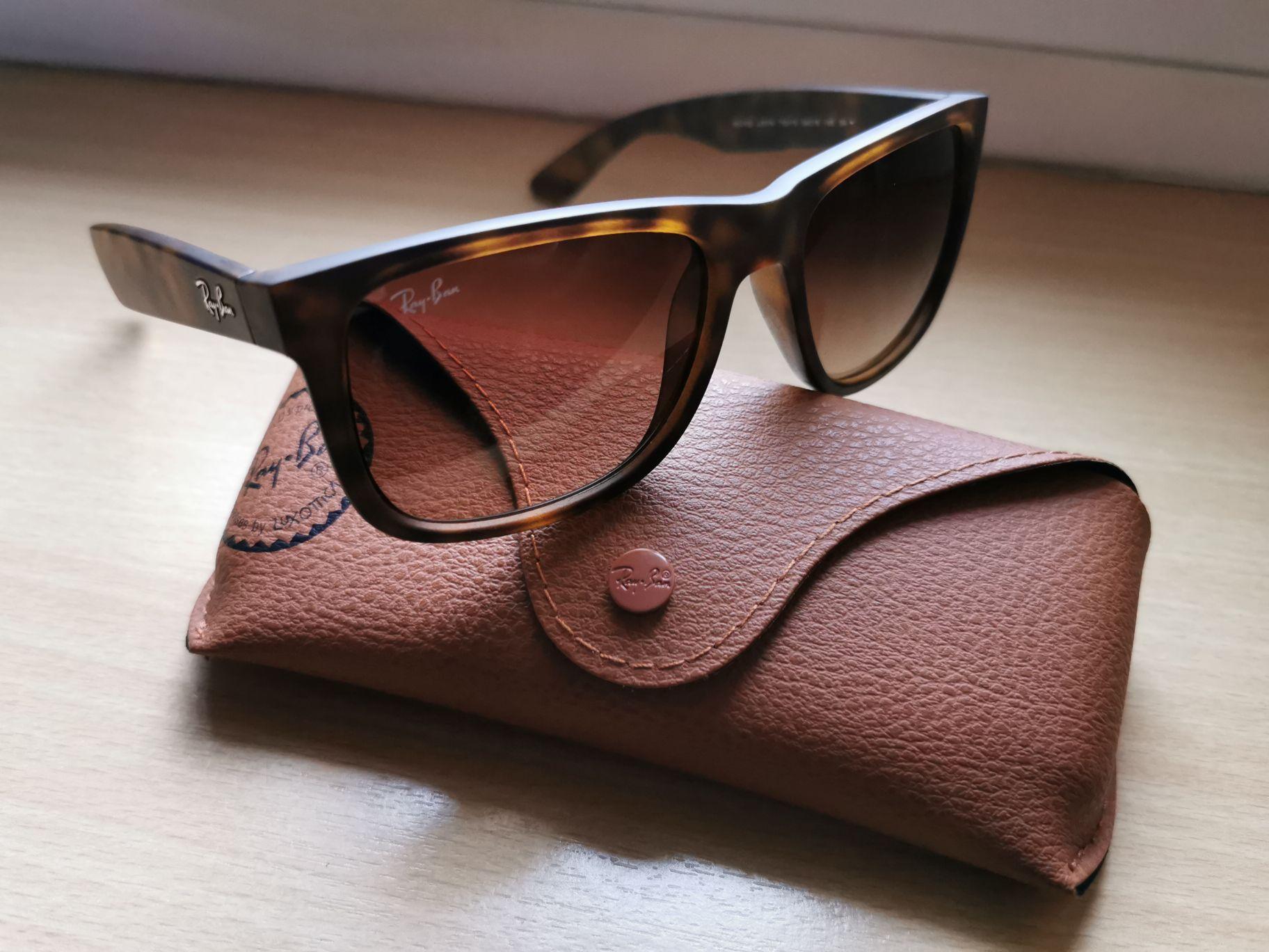 Okulary przeciwsłoneczne Ray-Ban RB 4165 710/13 Justin