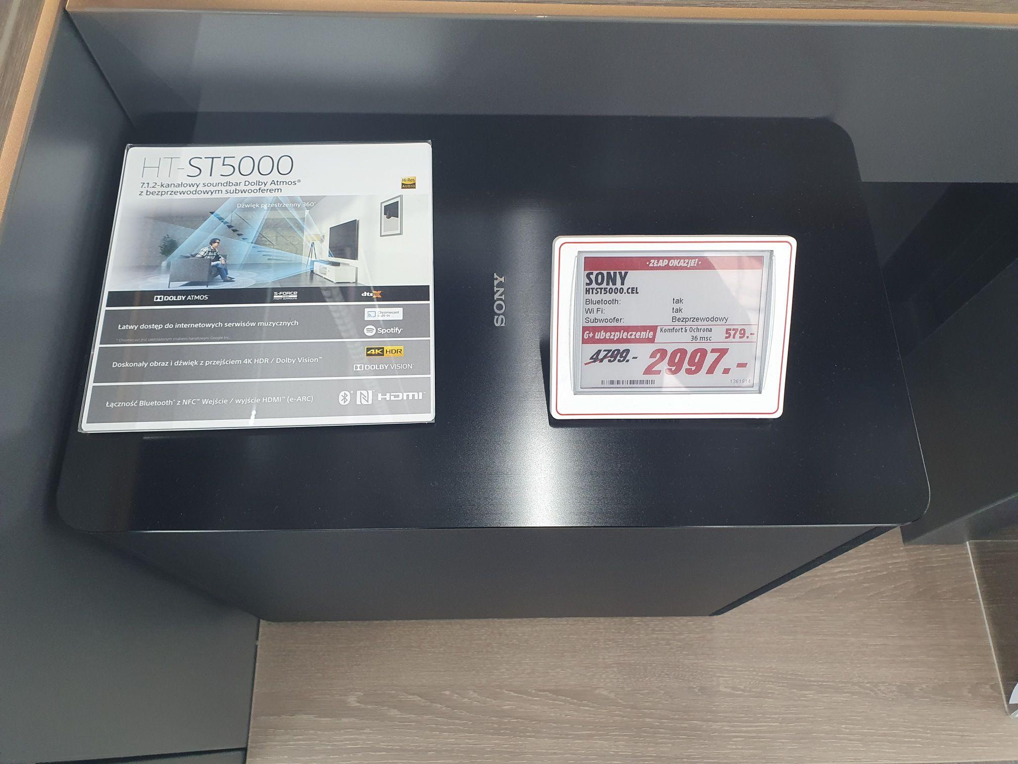 Soundbar Sony HTST5000