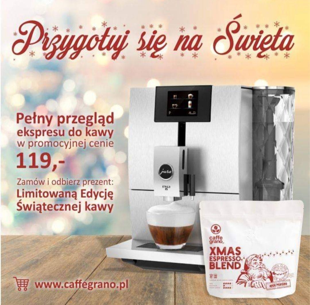 Pełny przegląd ekspresu do kawy + paczka świątecznej kawy @caffe grano