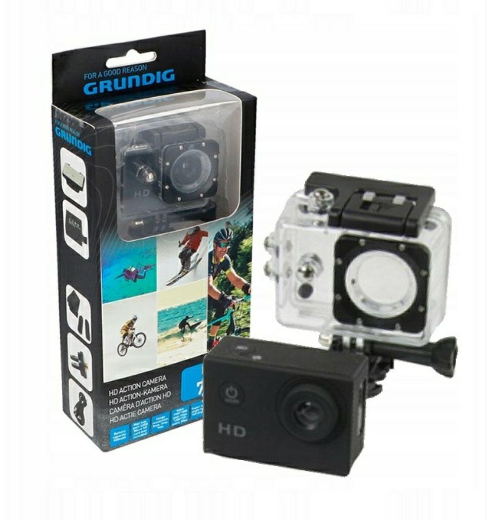 Kamera sportowa Grundig Wodoodporna Akcesoria HD 720P