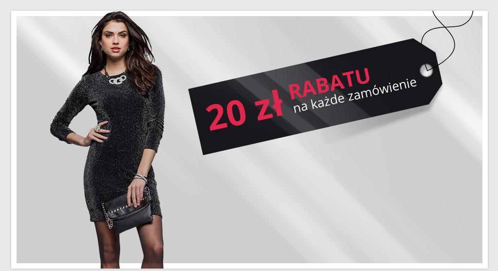 Rabat 20zł na wszystko przy zamówieniach za min.100zł @ Bon Prix