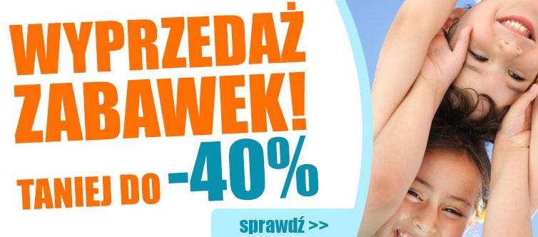 Zabawki taniej do -40% @ Agito.pl