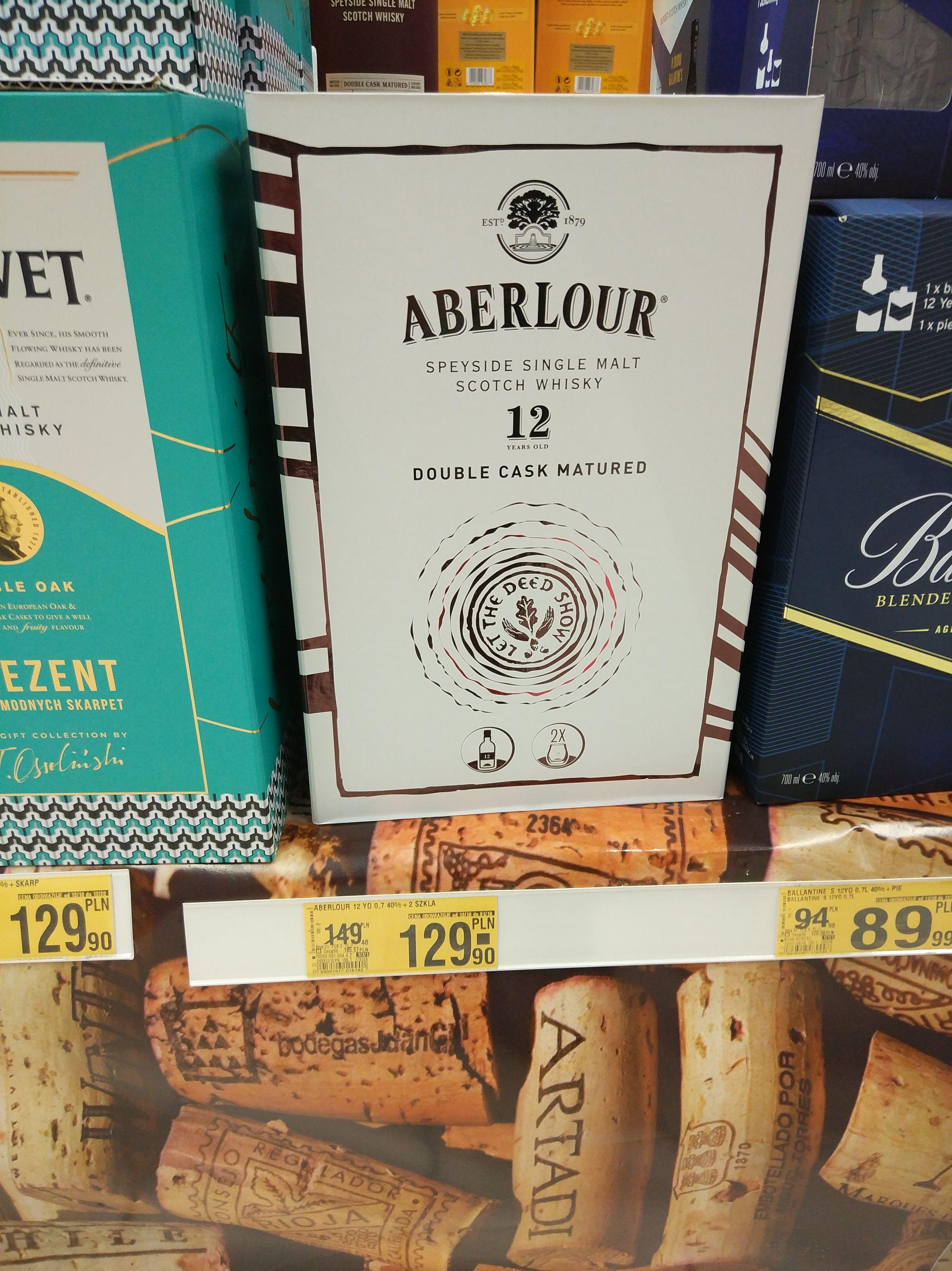 Whisky Aberlour 12yo + 2 szklanki
