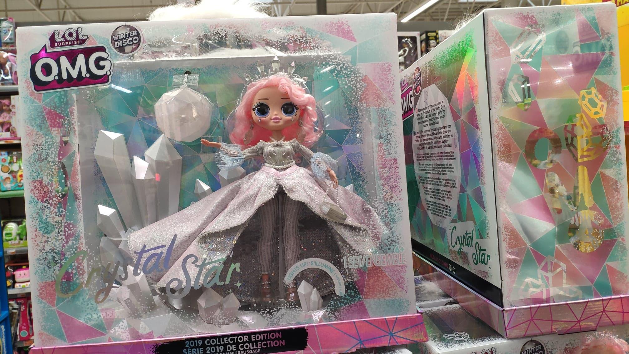 LOL Surprise OMG Winter Lalka Disco Crystal Star oraz inne