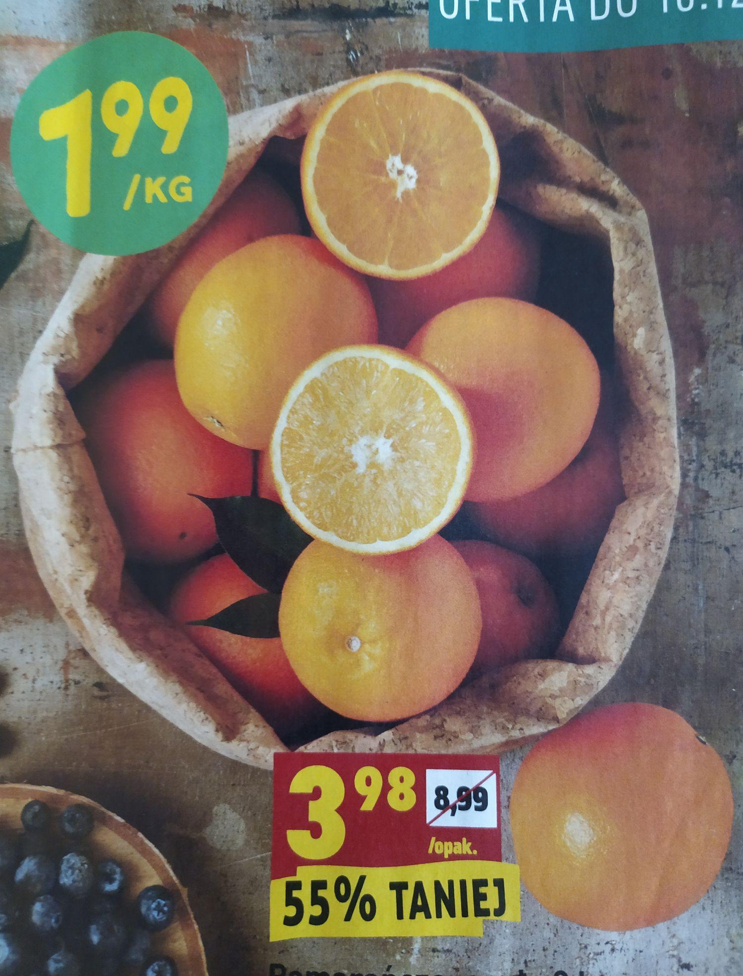 Pomarańcze i mandarynki - Biedronka