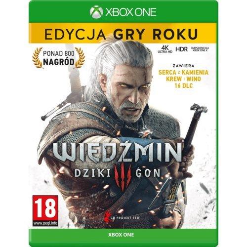 Wiedźmin 3: Dziki Gon - Edycja Gry Roku Gra XBOX ONE
