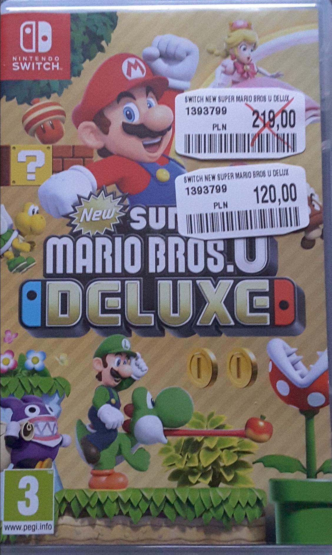 Gra New Super Mario Bros Deluxe na nintendo Switch w Media Markt