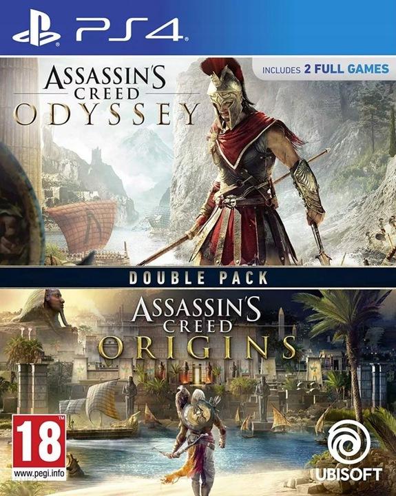 ASSASSINS CREED ODYSSEY + ORIGINS / PS4 / NOWA /PL