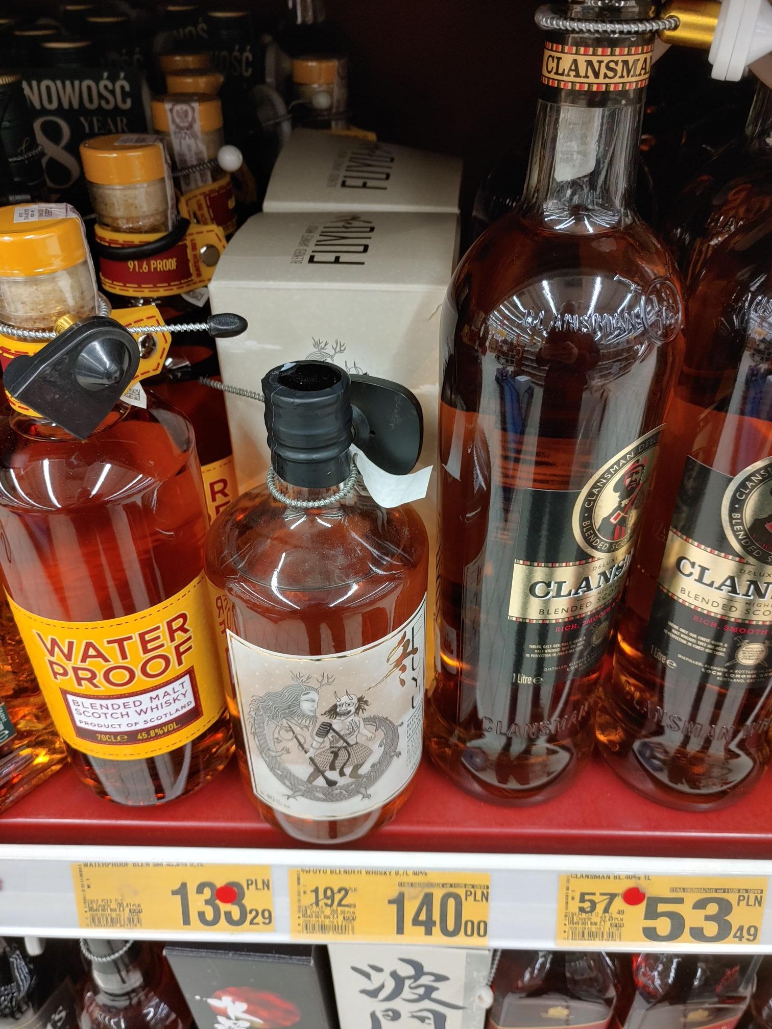 Whisky Fuyu - Auchan Bydgoszcz - R. Grunwaldzkie