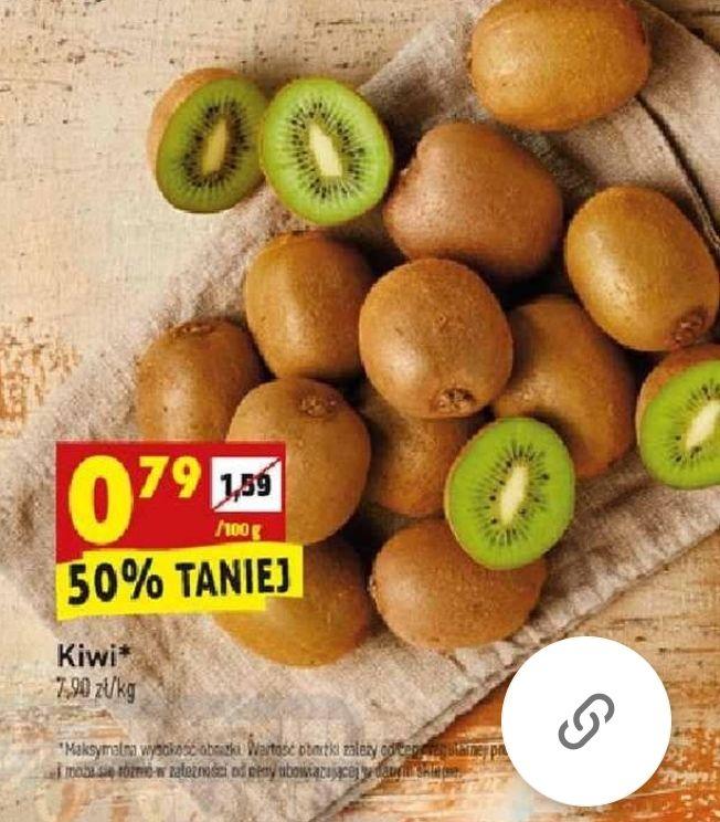 Kiwi 0,79 zł/100 g w Biedronce