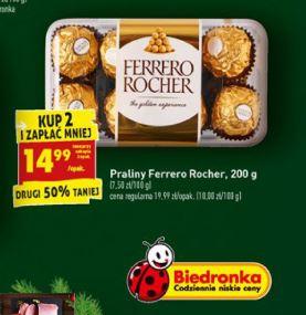 Ferrero Rocher 200g kup2 i zapłać mniej