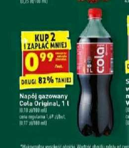 Cola Original 1l Biedronka