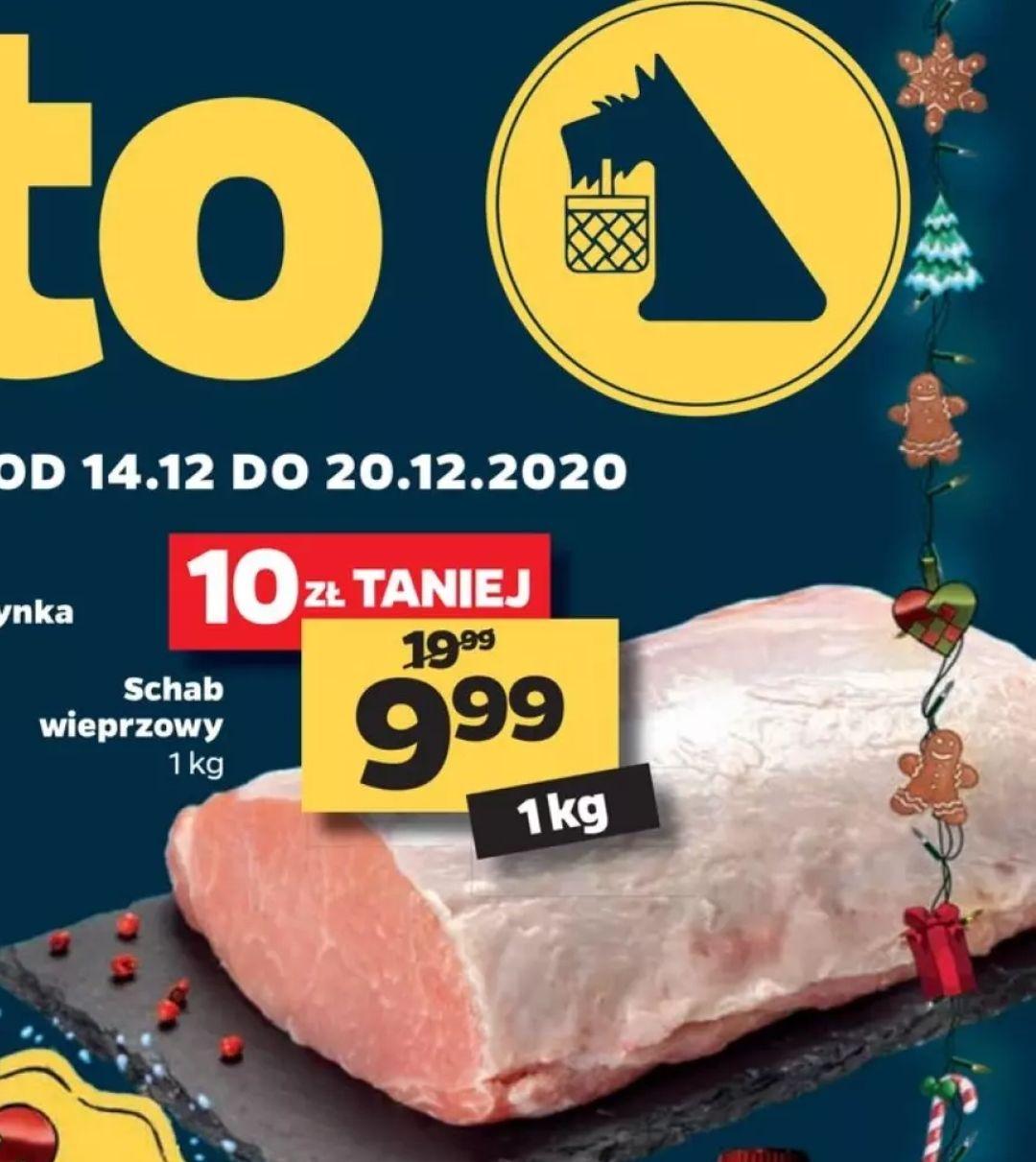Polski schab wieprzowy 1kg w Netto