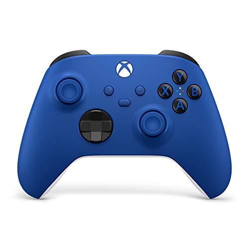Kontroler Microsoft Xbox Series z Amazon.de 51,41€ niebieski i biały