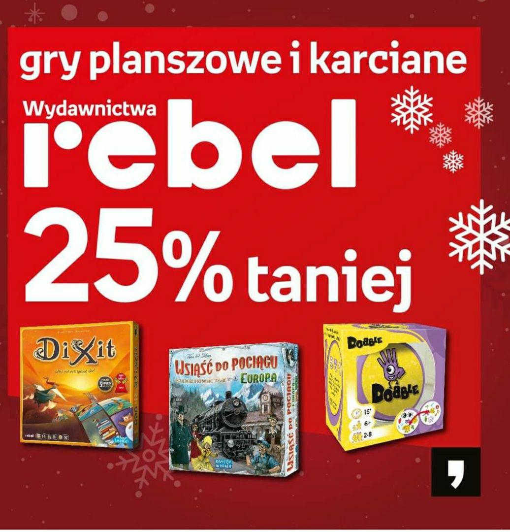 Empik gry planszowe i karciane rebel -25%