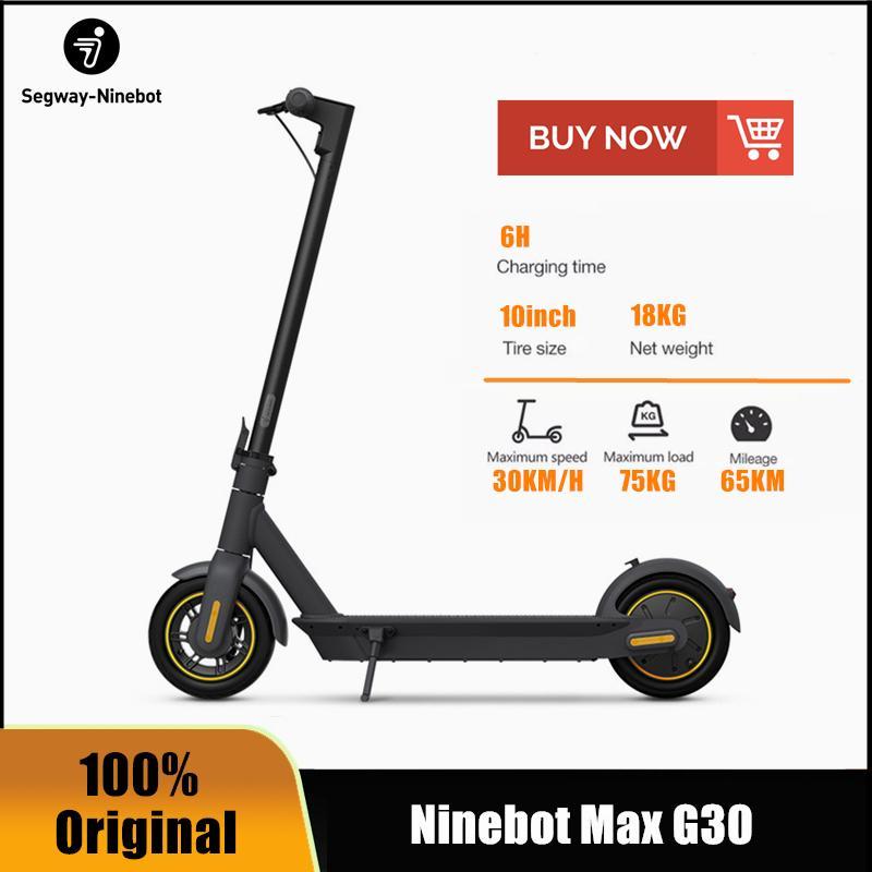 Hulajnoga elektryczna Segway Ninebot MAX G30 z Polski @Dhgate