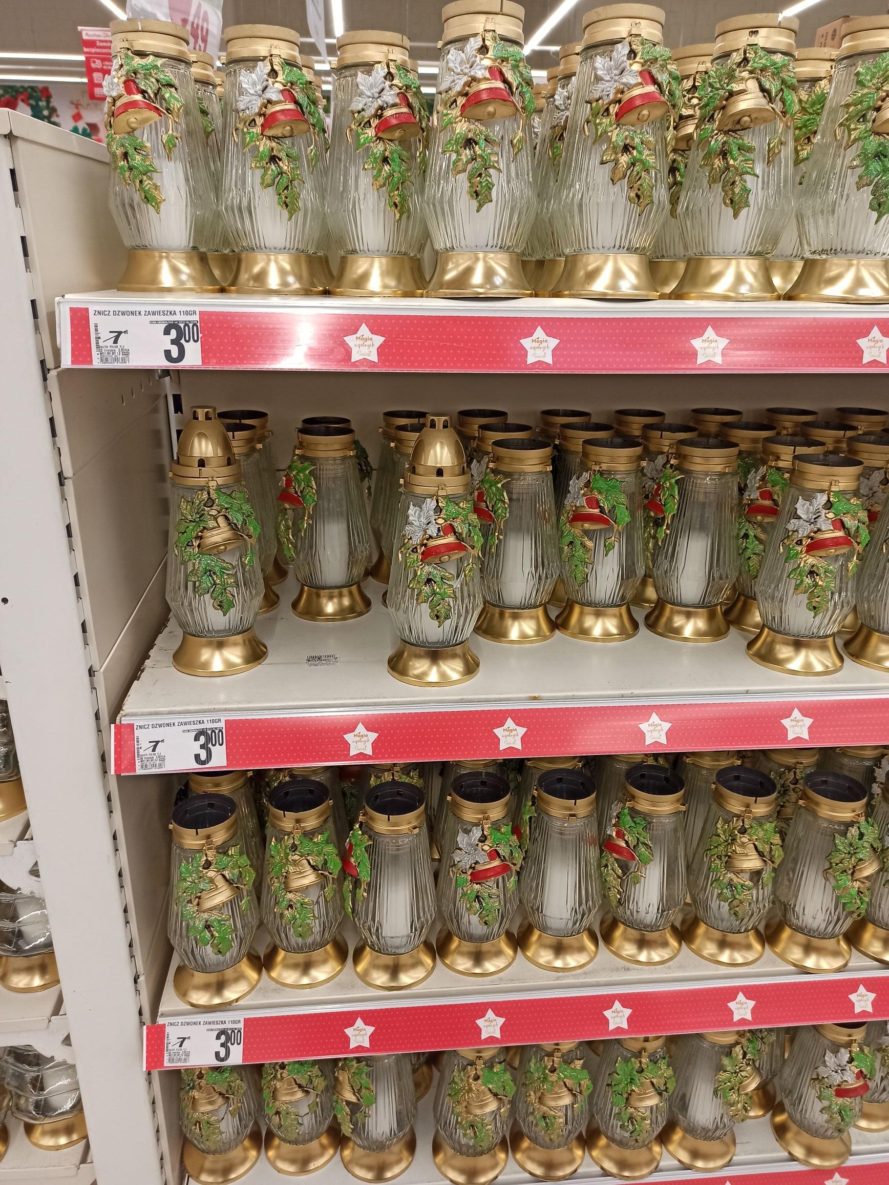 Znicze świąteczne 110 g Auchan Ursynów