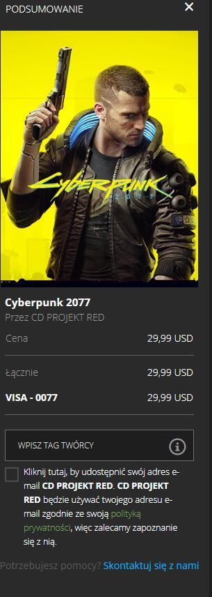 Cyberpunk 2077 epic store vpn Mołdawia