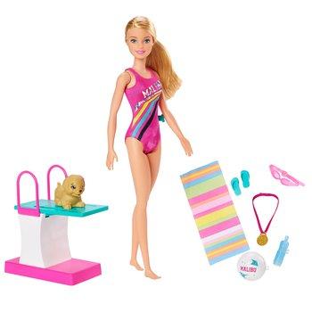 Mattel Barbie, lalka Pływaczka, EMPIK