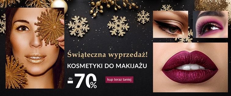 Do -70% na kosmetyki do makijażu ezebra