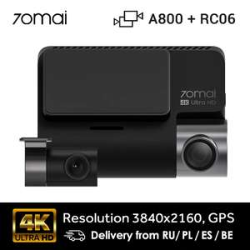 Kamerka 70mai A800 + RC06