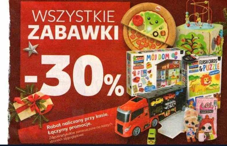 Zabawki 30 % taniej w Kauflandzie