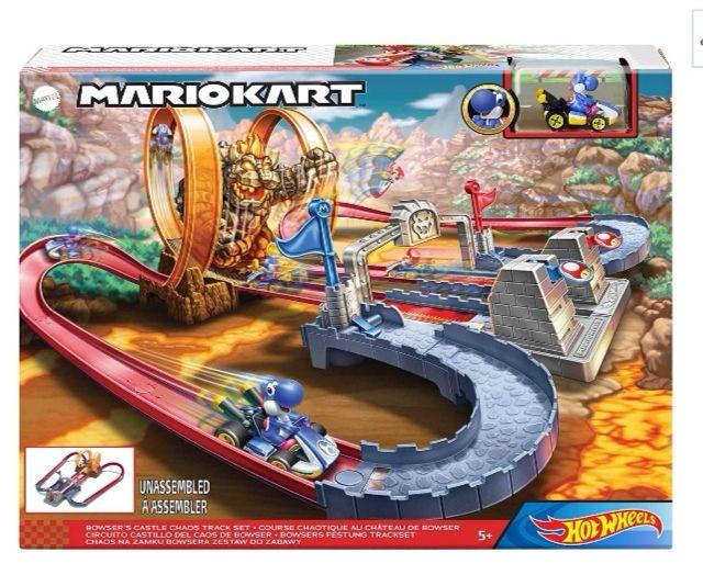 Hot Wheels GNM22 Mario Kart + kolorowanka Hot Wheels