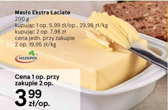 Masło za 3.99 przy zakupie 2szt @Tesco