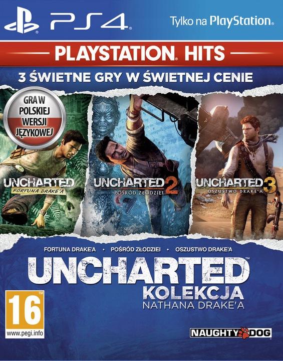 (PS4) Uncharted: Kolekcja Nathana Drake'a