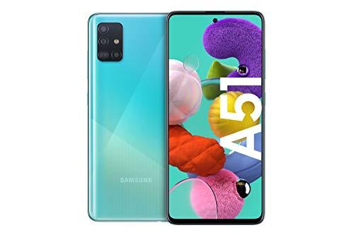 Telefon Samsung Galaxy A51, 4 GB/128 GB niebieski/srebrny