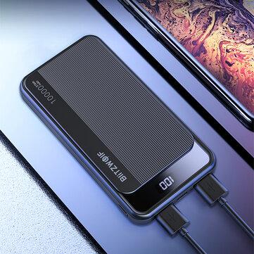 Powerbank BlitzWolf® BW-P12 10000mAh 22.5W - $14.99 + $2.55)