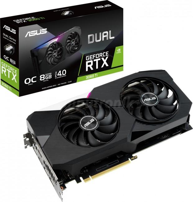 ASUS GeForce RTX 3060 Ti DUAL 8GB OC