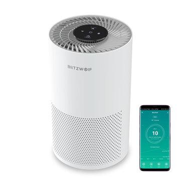 BlitzWolf®BW-AP1 oczyszczacz powietrza , 220m^2/h cichy, hepa, wysyłka z czech