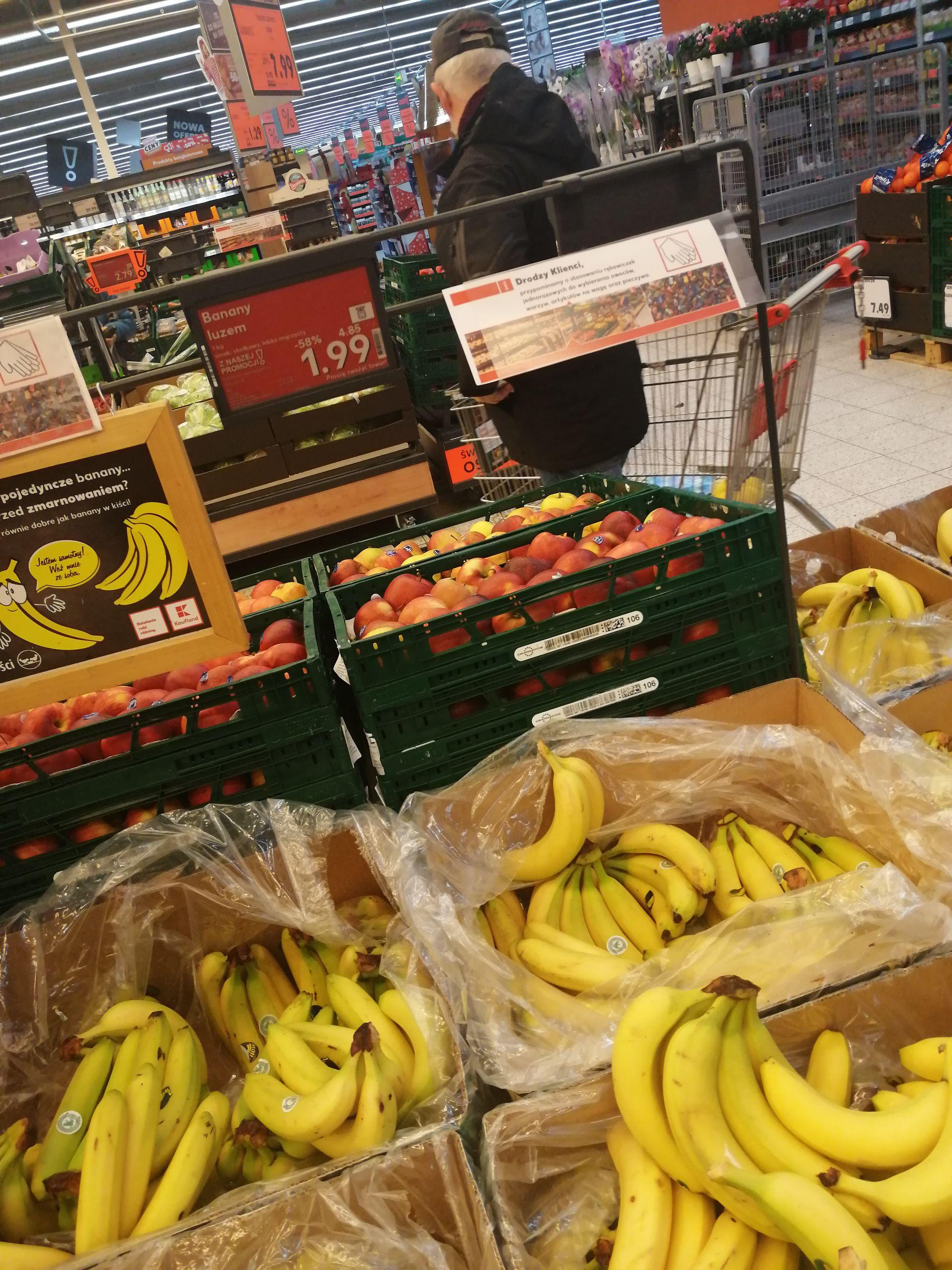Banany Kaufland