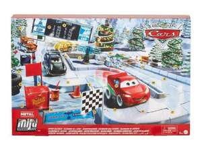Mattel Cars Kalendarz adwentowy