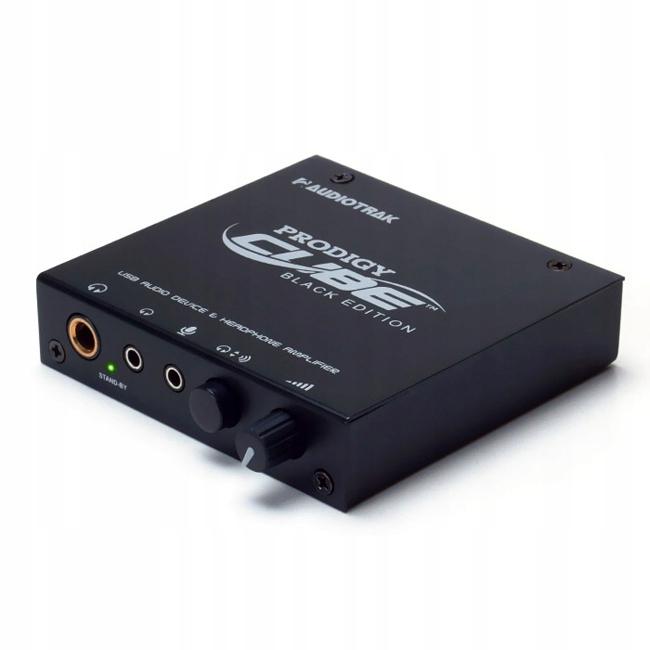 Zewnętrzna karta dźwiękowa USB Audiotrak Prodigy Cube Black Edition