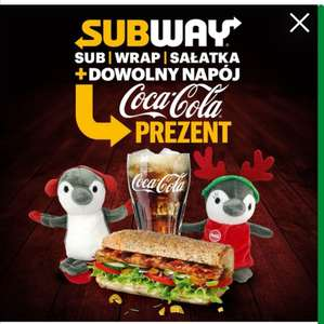 Pingwinki do zamówienia z subway
