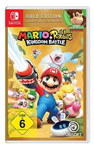 Mario & Rabbids Kingdom Battle - Gold Edition (Nintendo Switch) @Amazon 36,79€