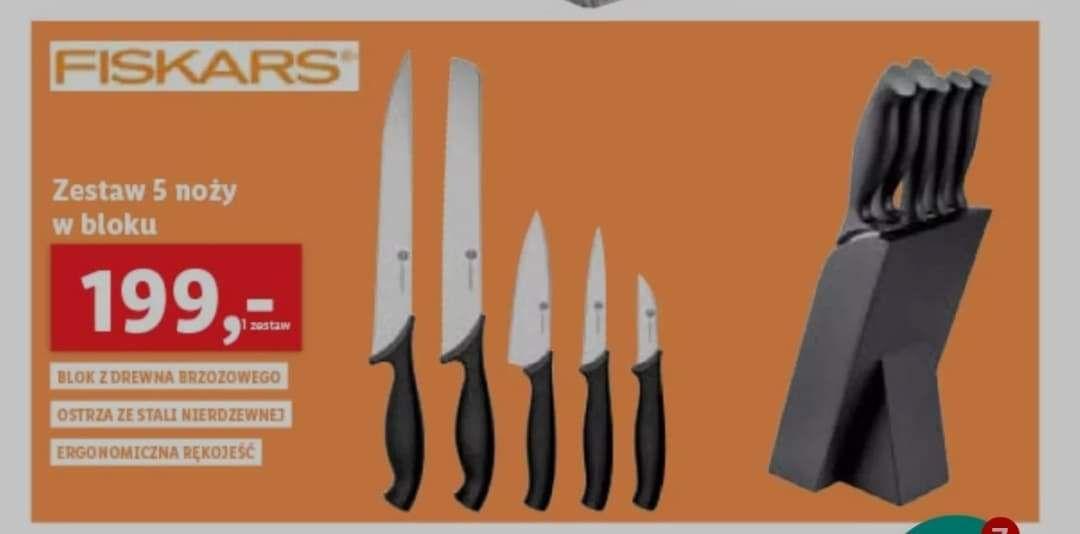 Noże fiskars Lidl