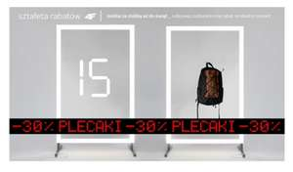 4F promocja na plecaki -30 % od ceny pierwszej