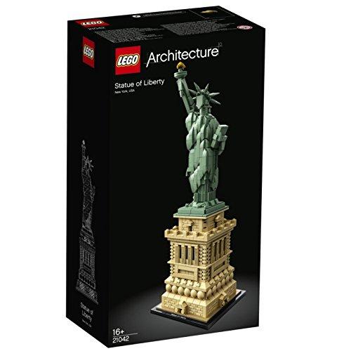 LEGO 21042 Architecture Statua Wolności Amazon, Darmowa Dostawa, 63,52 €