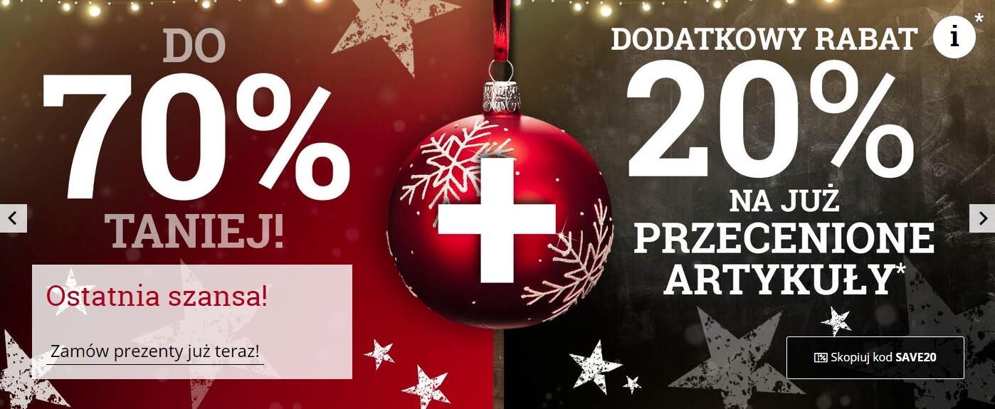 Przeceny na figurki Funko POP! i świąteczny merch do -70% na EMPie