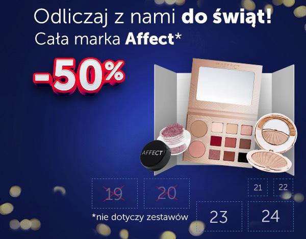 Do -50% Kosmetyki do makijażu Affect