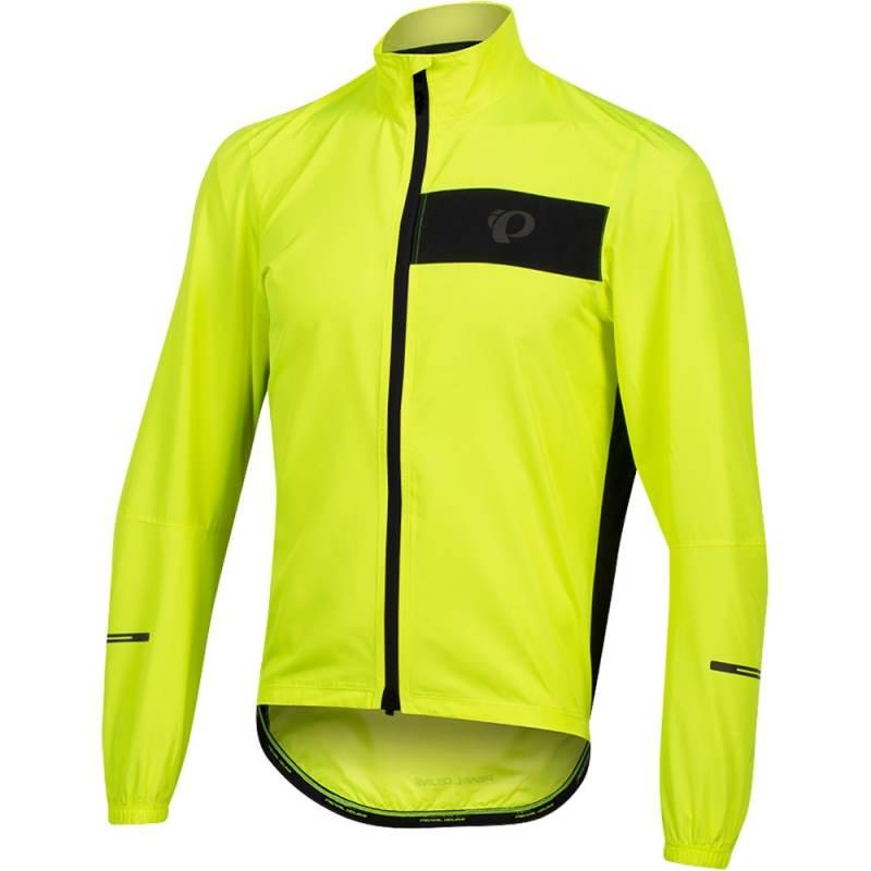 Pearl Izumi Select Barrier Kurtka rowerowa przeciwdeszczowa screaming yellow black