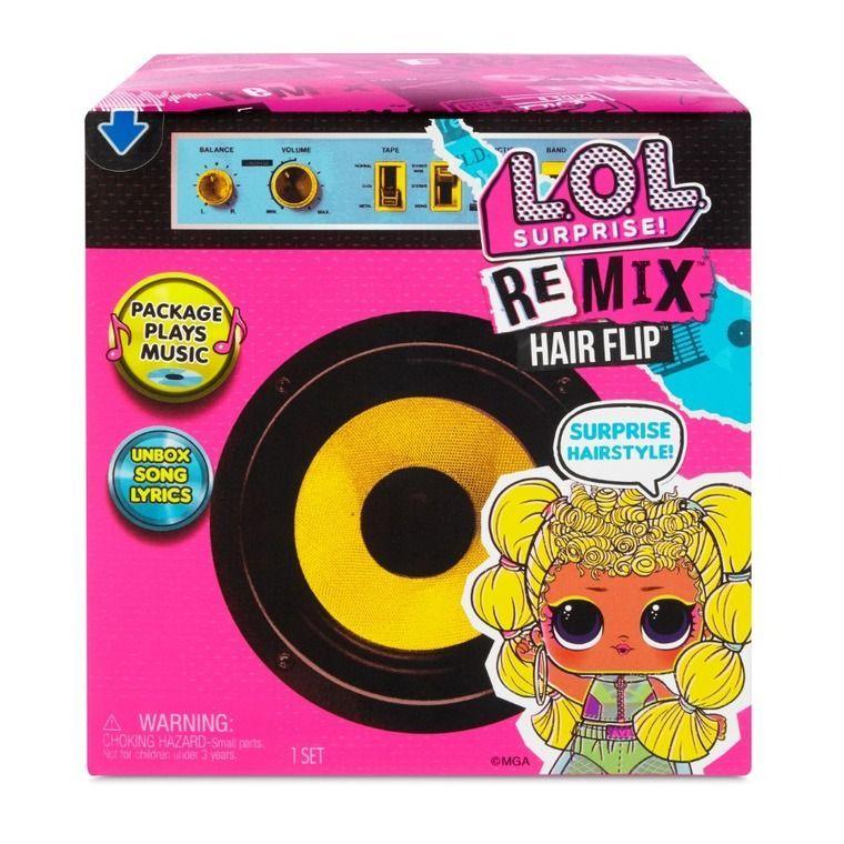 L.O.L. Surprise, laleczka Remix Hair Flip