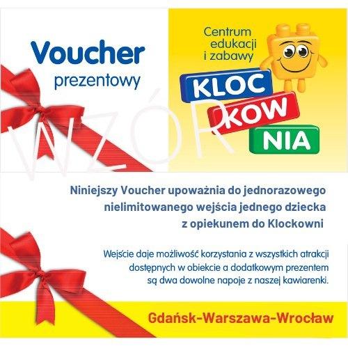 Gdańsk - Klockownia Voucher na nielimitowane wejście -50% - Metropolia za pół ceny